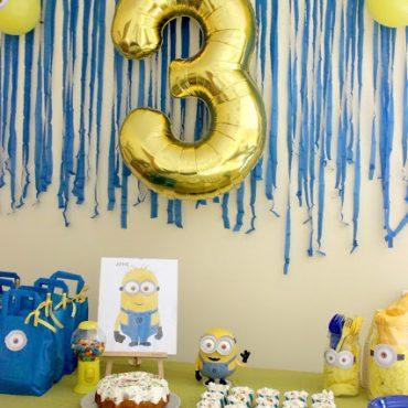 Πάρτι Γενεθλίων Μίνιονς!