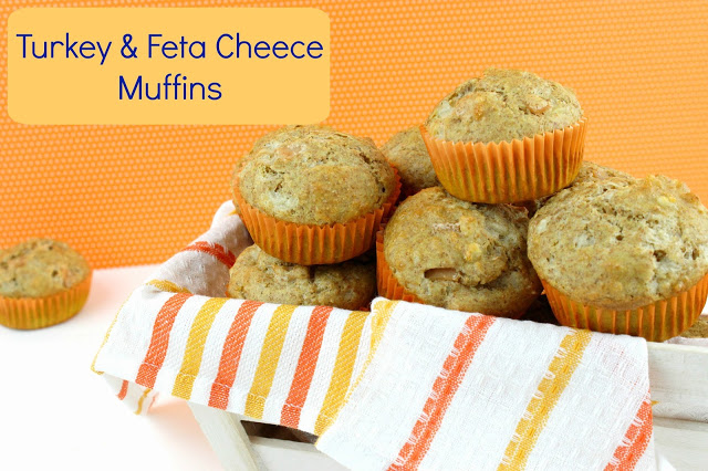 Recipe for muffins with turkey and cheece