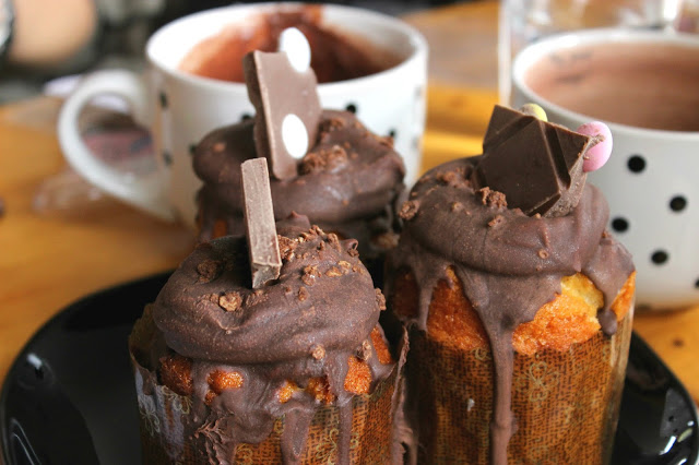 Cupcakes and coffee in Terra delicia