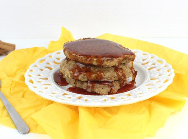 vegan recipe oat pancakes