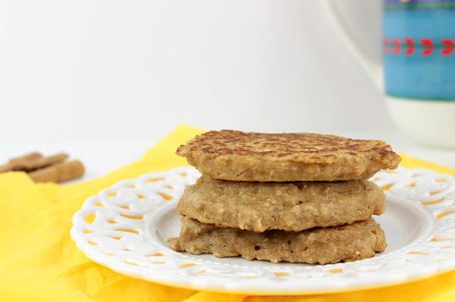 oat pancakes with orange preparation step 1
