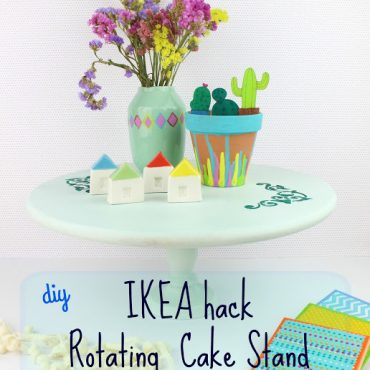 Diy IKEA hack – Rotated Cake Stand!