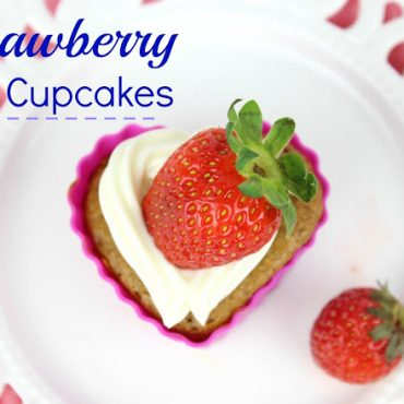 Strawberry Oat Cupcakes!!!