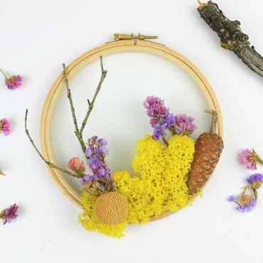 How to Craft a Woodland Wreath for Home Decor!!!