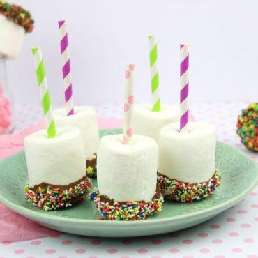 Marshmallows με Σοκολατα και Καραμελακια